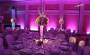 Purple UpLighting at sweet 16